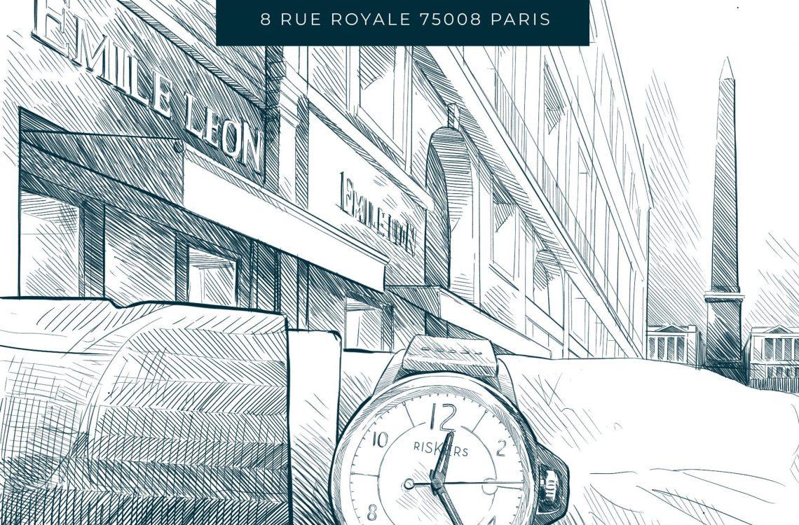 Riskers ouvre son premier point de vente à Paris !