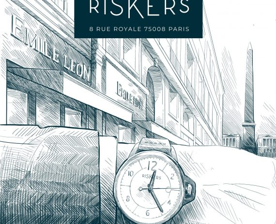 Riskers opens its first point of sales in Paris !