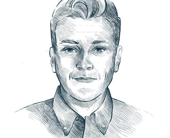 Portrait - Edouard, Commercial & Business developer
